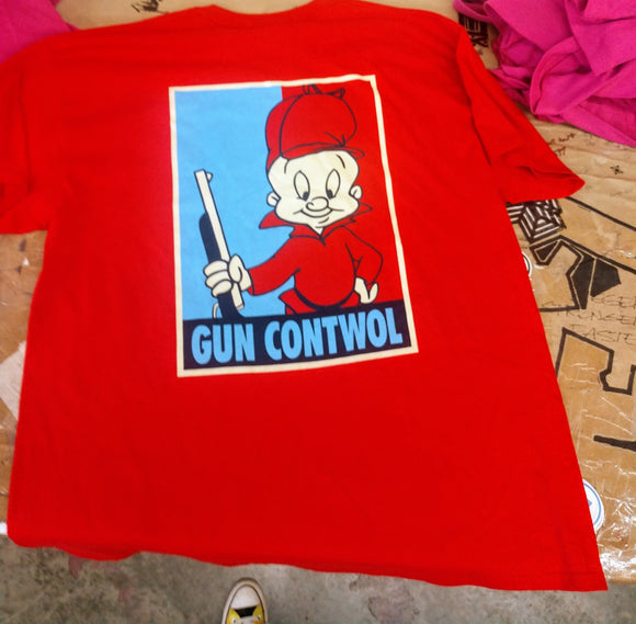 RED! GUN CONTWOL (ELMER FUDD LIMITED EDITION)