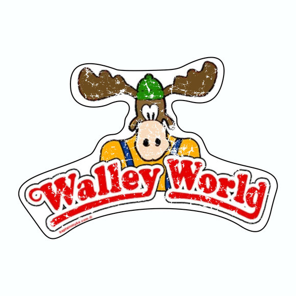 3X3 WALLY WORLD STICKER