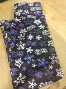LADIES SNOWFLAKE LEGGINGS