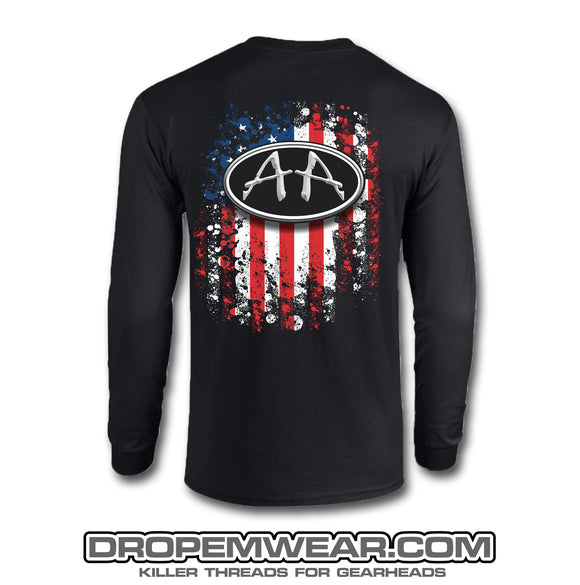 ACRO AMERICAN FLAG LONG SLEEVE SHIRT