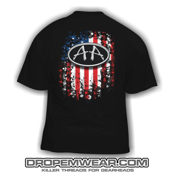 ACRO AMERICAN FLAG SHORT SLEEVE SHIRT