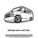 ASTRO VAN HAT PIN (#41)