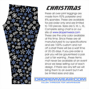 LADIES CHRISTMAS LEGGINGS