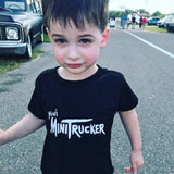 MINI MINITRUCKER KIDS SHIRT BLACK OR PINK