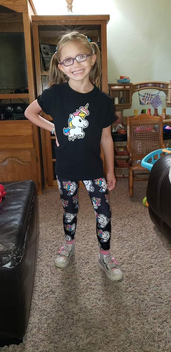 SPRINKLES THE UNICORN LEGGINGS