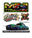 MINI TRUCKIN ICONS PAINT CAN SERIES 2 FREAK SHOW