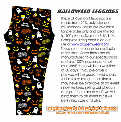 LADIES HALLOWEEN LEGGINGS