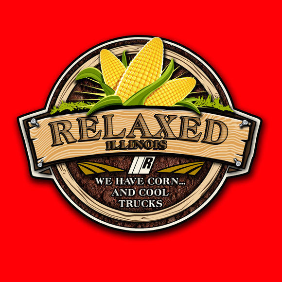 RELAXED ILLINOIS SHIRT RED