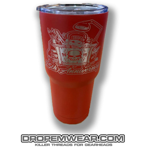 RED 25th ANNIVERSARY TUMBLER