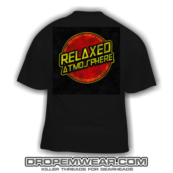 RELAXED SANTA CRUZ BLACK SHIRT