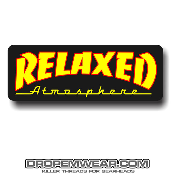 RELAXED THRASHER STICKER  2X4