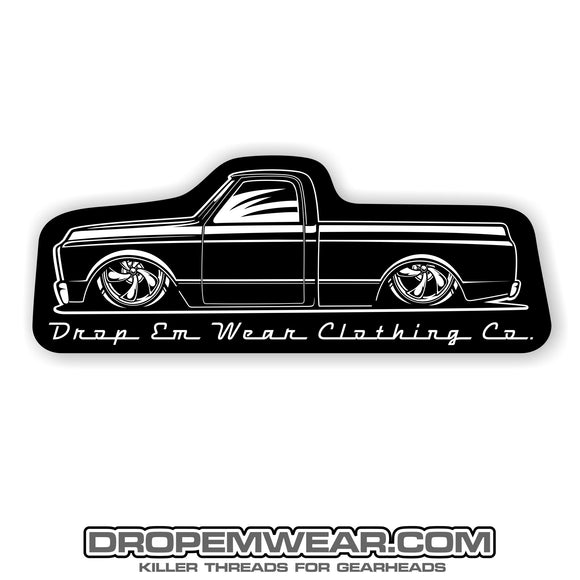 2X6 ROUND BODY C10 STICKER