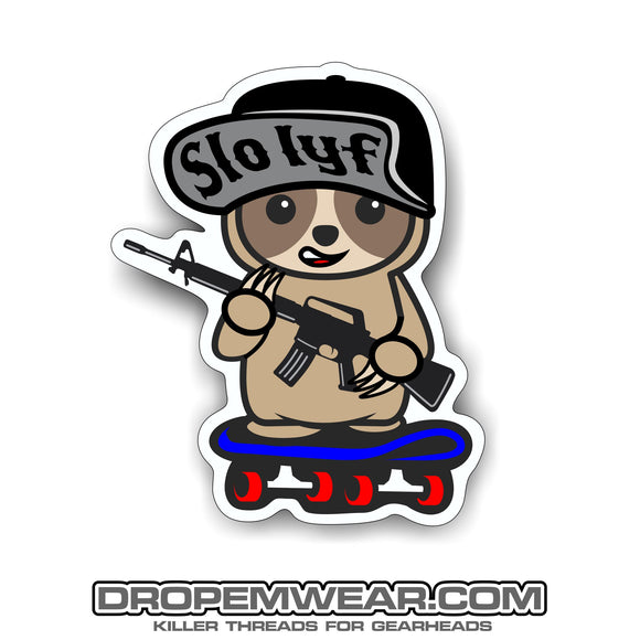 2X3 SLOTH STICKER