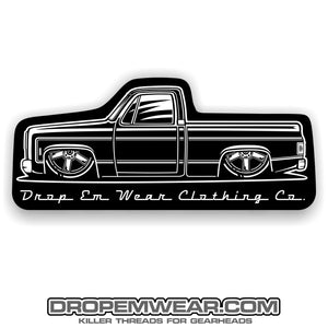 2X6 SQUARE BODY C10 STICKER