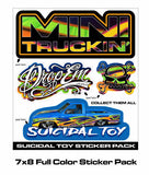 MINI TRUCKIN ICONS PAINT CAN SERIES 1
