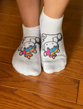 SPRINKLES THE UNICORN CREW SOCKS - WOMEN