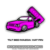 TILT BED MAZDA HAT PIN #38