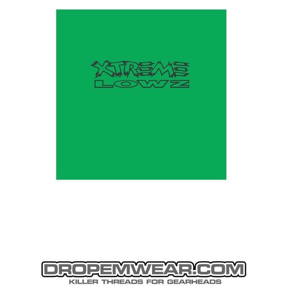 XTREME LOWZ FRONT PRINT ONLY KELLEY GREEN
