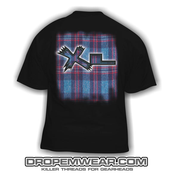 XTREME LOWZ PLAID FULL LOGO