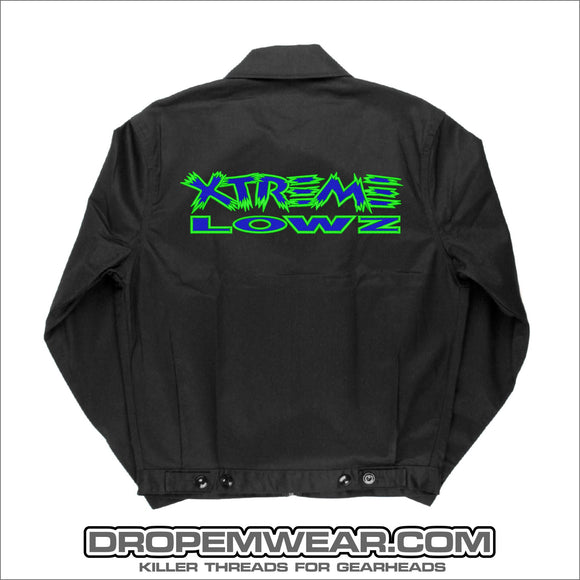 BLACK XTREME LOWZ DICKIES JACKET