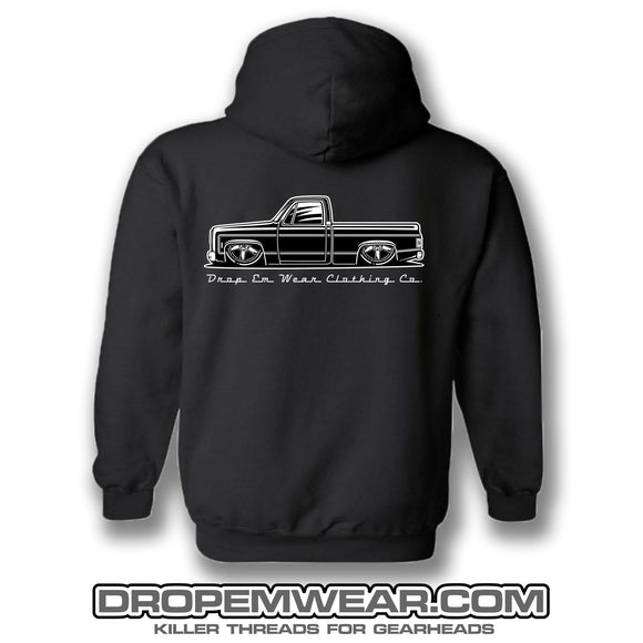 LIMITED SQUARE BODY C-10 SCREEN PRINTED HOODIE