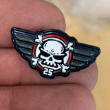 25th ANNIVERSARY SKULL HAT PIN (#1)