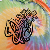 LIMITED EDITION TYE DYE TATTOO SCRIPT T-SHIRT