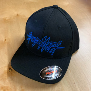 AFTERMATH FULL LOGO ON A BLACK CURVED BILL HAT