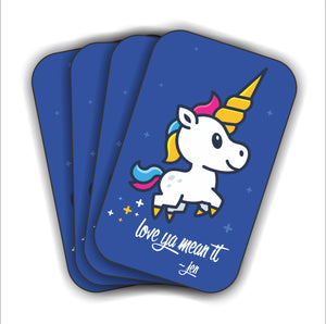 2X3 SPRINKLES THE UNICORN STICKER