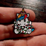SPRINKLES WITH HOLIDAY LIGHTS HAT PIN (#52)