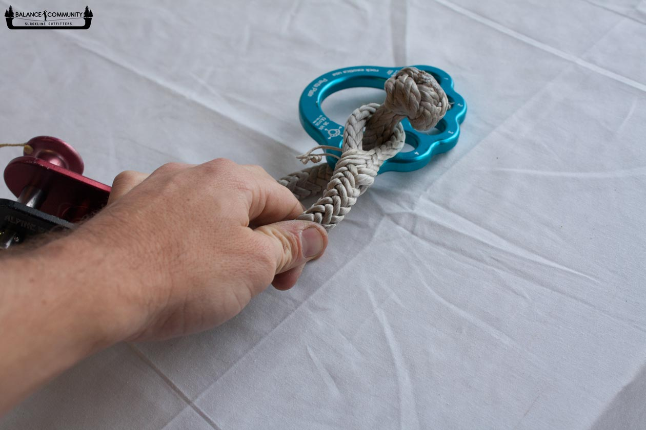 How to use soft shackles - Step 6