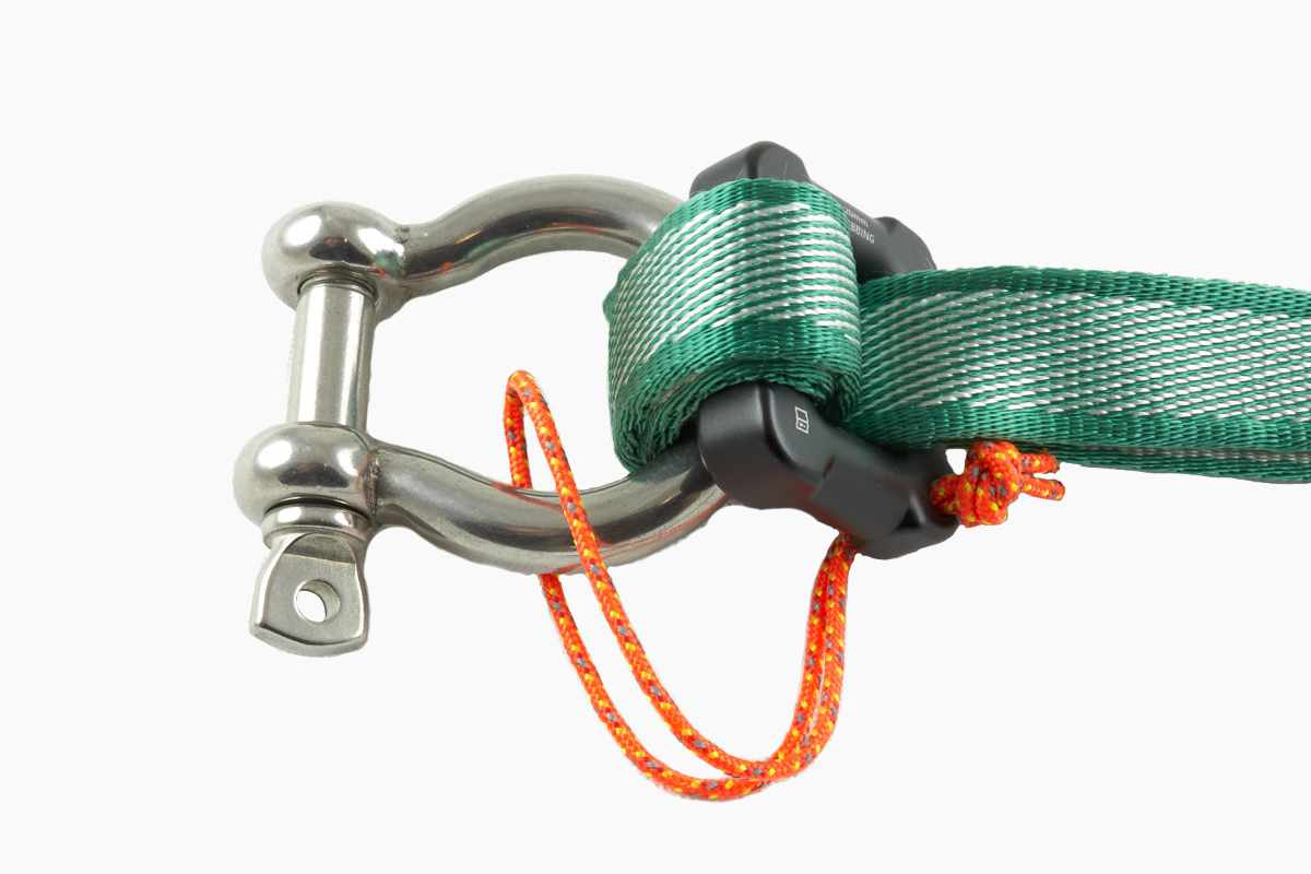 MightyLock on a 12mm bow shackle