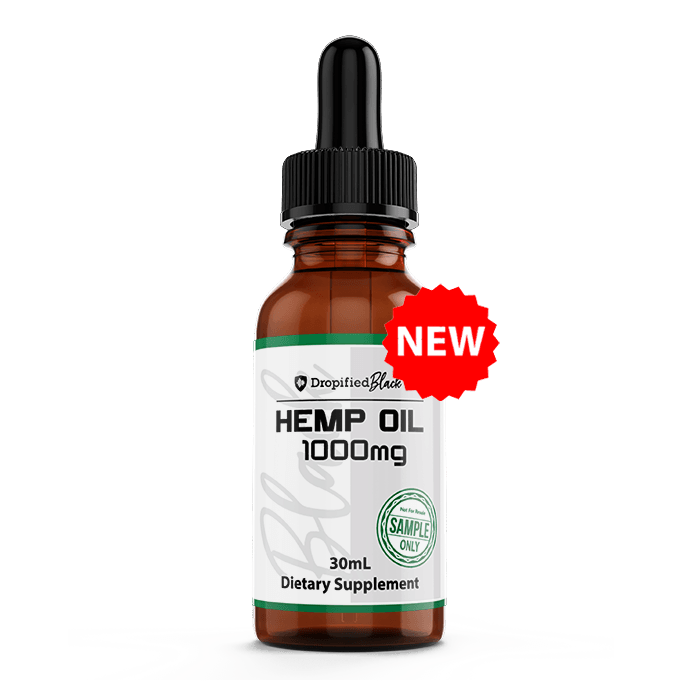 CBD Tincture 1000mg Full Spec - Natural