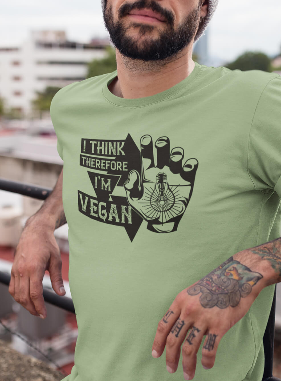 3e9ce2740 Load image into Gallery viewer, I THINK THEREFORE I'M VEGAN TEE ...