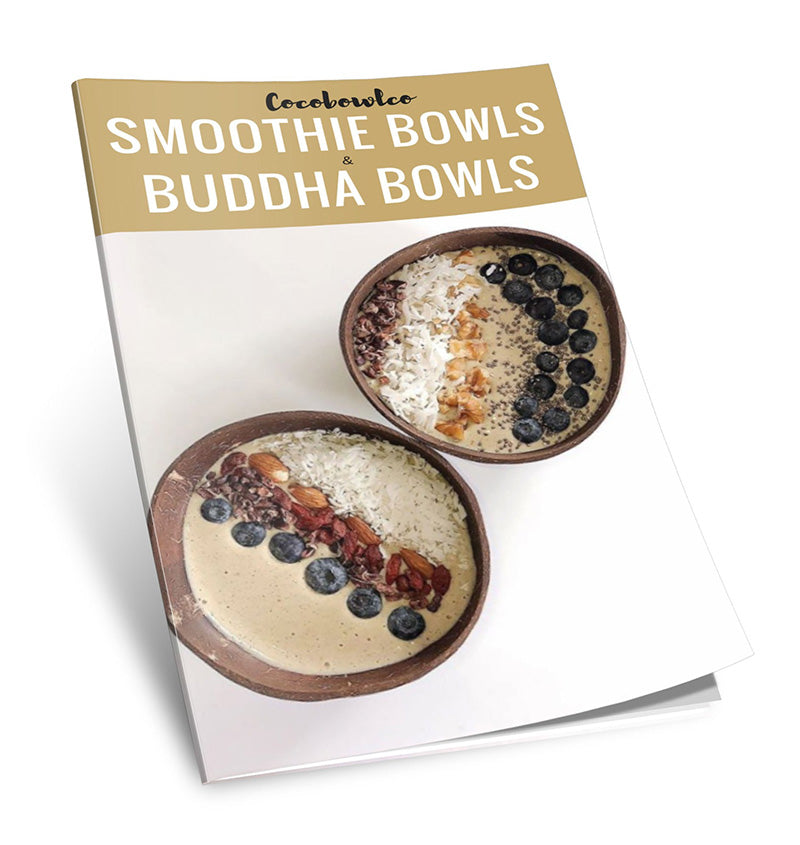 Download your free Smoothie Bowls and Coconut Bowls eBook Guide