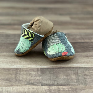 Baby Cactus Moccasins