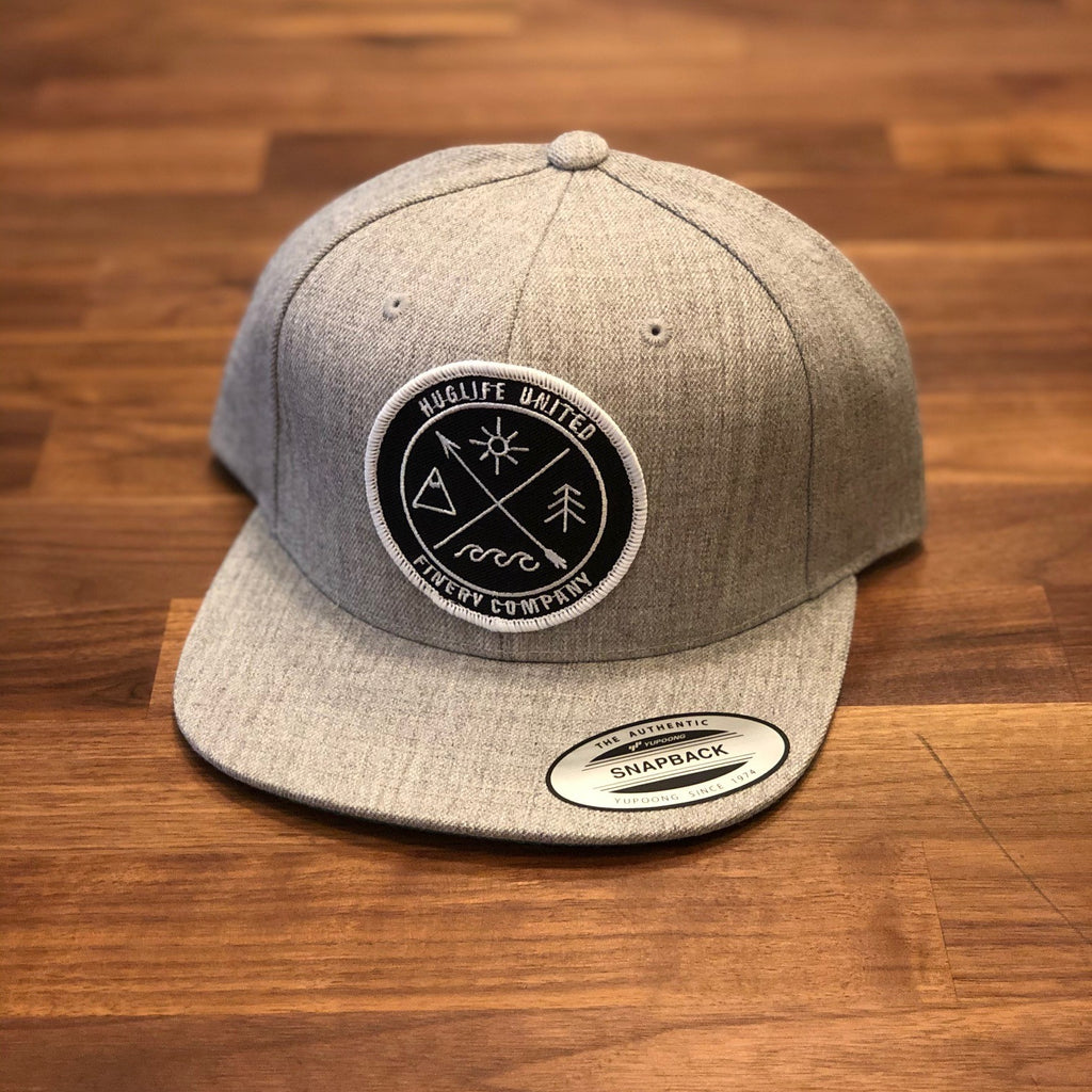 Oatmeal Heather Snapback / Pacific Northwest Patch