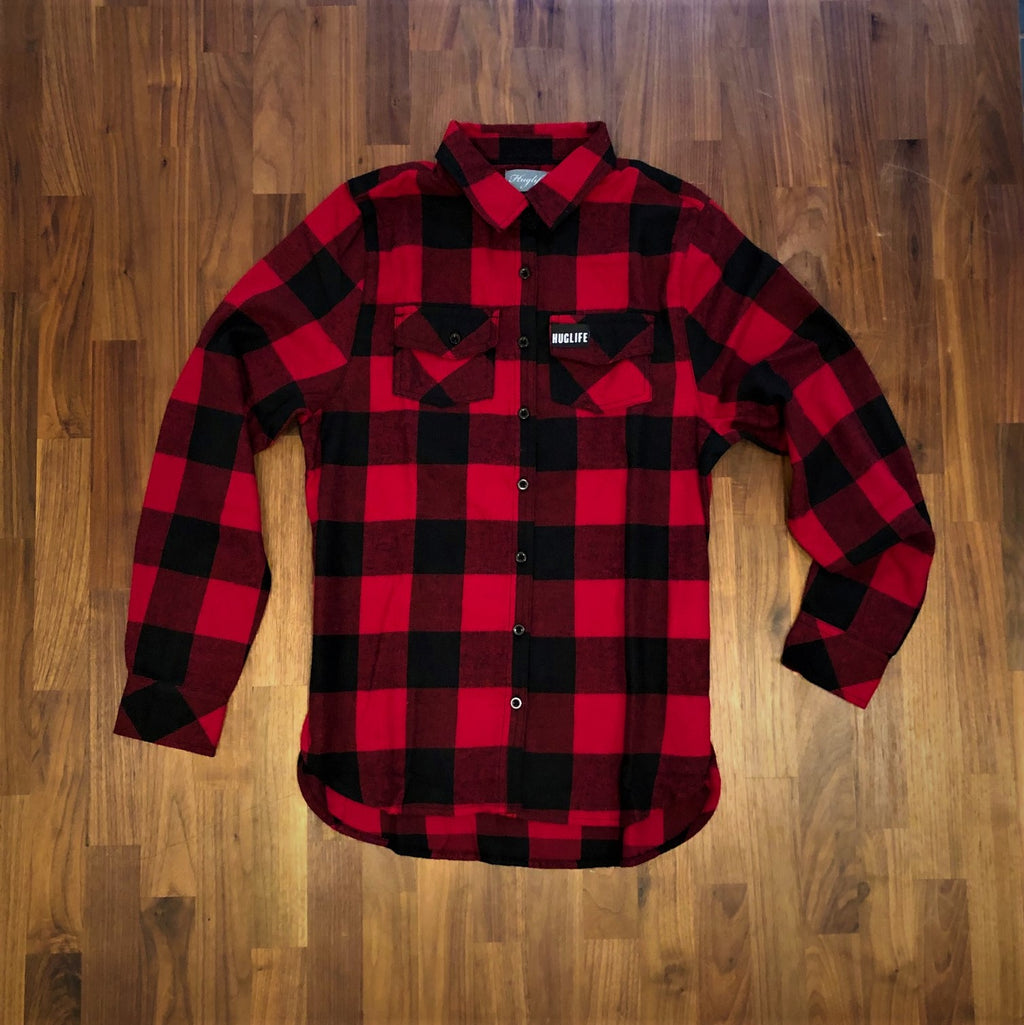 The Lil' Kim / Women's Red and Black Flannel