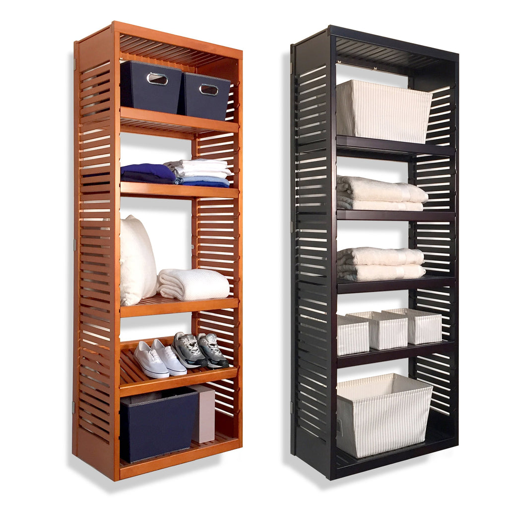 Woodcrest 16in. Deep Tower with Shelves