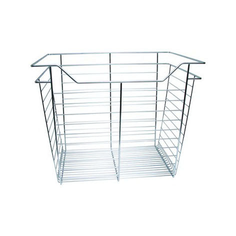 "Häfele 17"" High Wire Basket For 12"" Deep Closet Organizer Tower Kits"