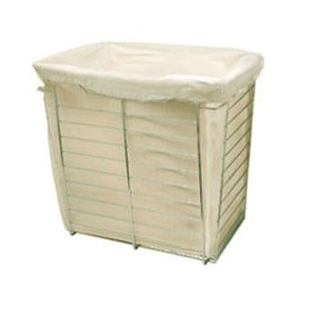 "Häfele 19-1/2"" High Laundry Bag for 16"" Deep x 17"" High Wire Baskets"