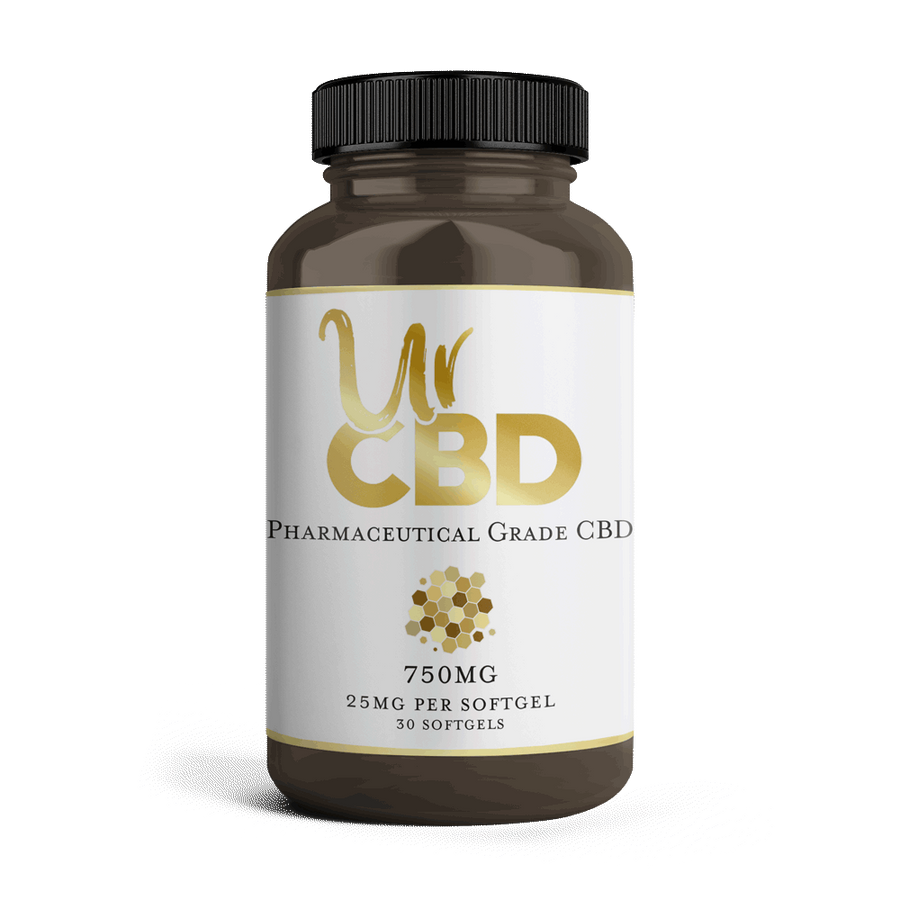 Premium CBD Oil Softgels from UrCBD