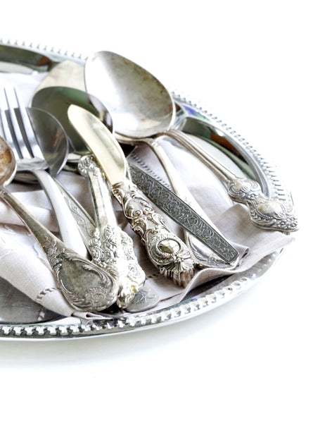 Easy Tricks to Keep your Silver Dinnerware Tarnish-Free