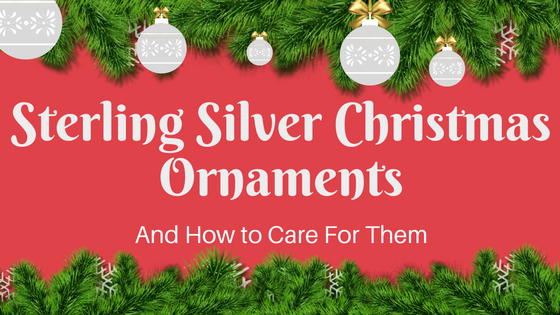 Sterling Silver Christmas Ornaments