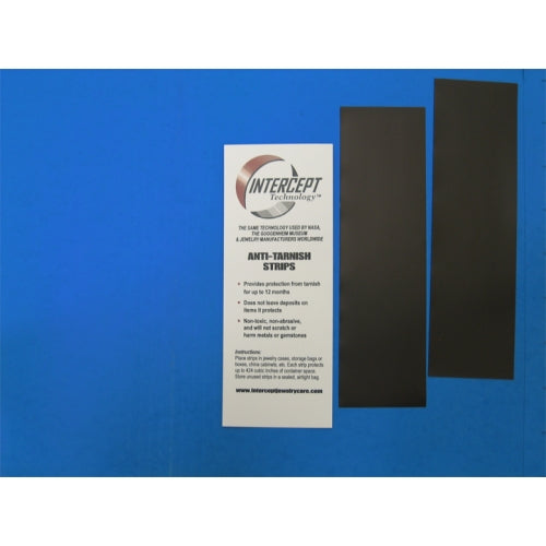 "Anti Tarnish-Static Intercept® Non-abrasive 2""x7"" Strips"
