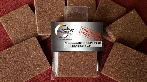 Intercept Foam™ - Anti Tarnish Pad Inserts - 2.5
