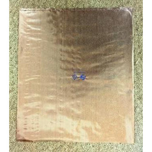 "Corrosion Intercept® Anti Tarnish 14""x16"" Translucent Flat Bag"