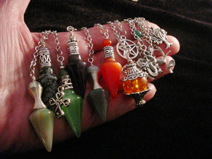 Crystal Chrysalis Lots of Assorted Pendants and Pendulums Ontario Canada