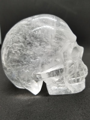 "Natural ""One Only"" Clear Quartz Crystal Skull"