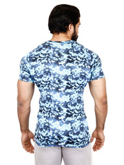 COOLDRY - ARCTIC BLUE CAMO TSHIRT Men's - AestheticNation